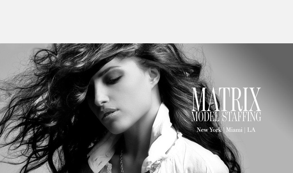 PROMOTIONAL MODELING Agencies NYC - MATRIX MODEL