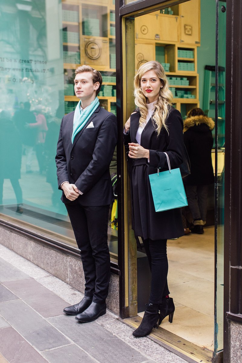 tiffany & co wintertime, tiffany and co in the wintertime